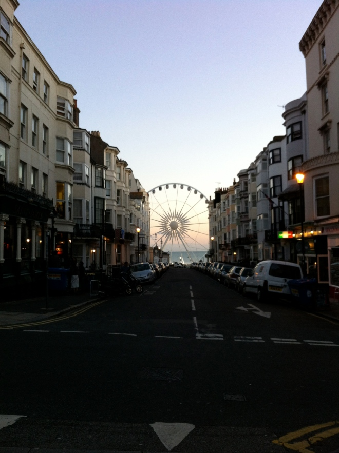 Brighton Eye @ Sunset